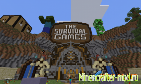Сервер LifeBoat Survival Games для Minecraft 0.12.1