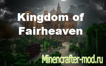 Карта Kingdom of  Fairheaven на Minecraft PE 0.14.1