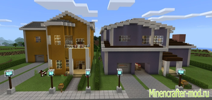 Карта Redstone Neighborhood 1.1.0