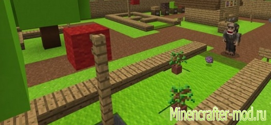 Карта Minigolf Course для Minecraft Pocket Edition 1.0, 1.0.9