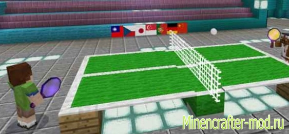 Карта Ping Pong для Minecraft Pocket Edition 1.1.5, 1.2.0