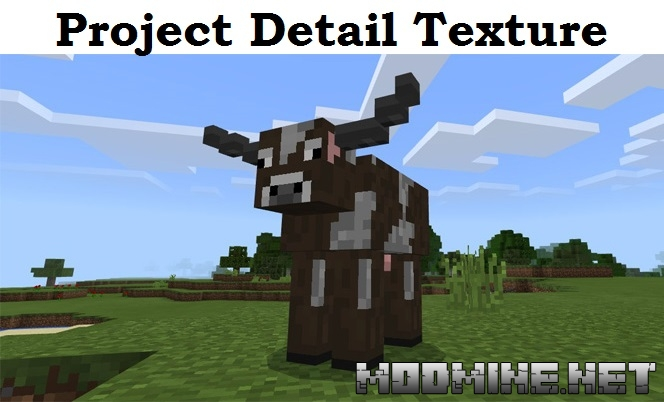 Текстурпак Project Detail Texture Pack 1.2.0, 1.2.5