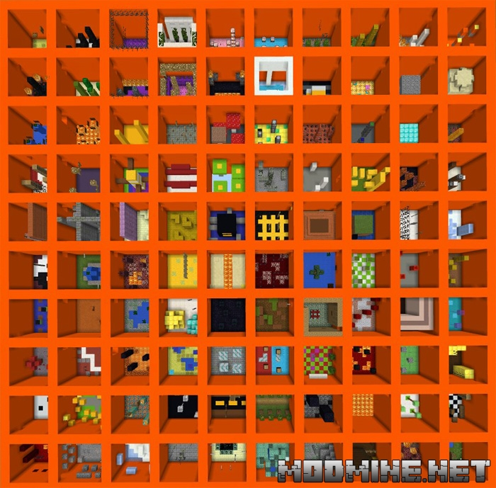 Карта The Orange Parkour 1.2.0, 1.2.6, 1.2.8