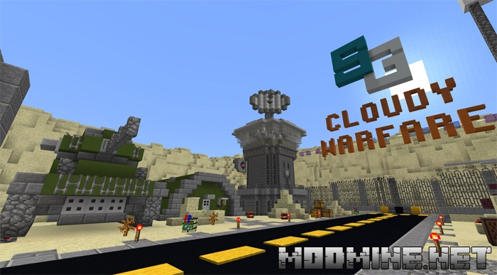 Карта SG Cloudy Warfare 1.2.10