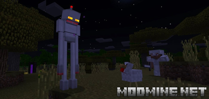 Мод Enderman Robot 1.2.10